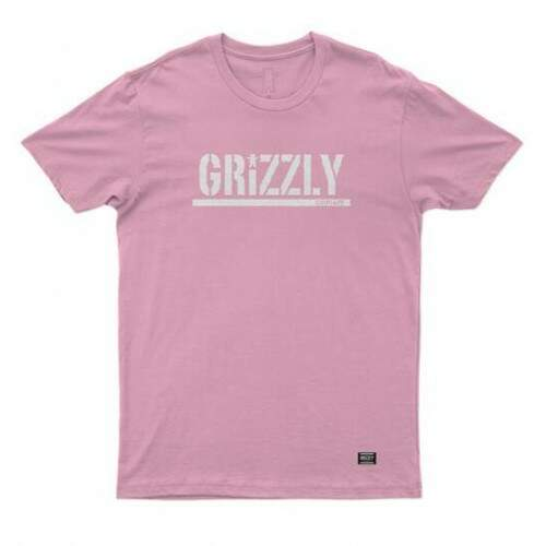 Camiseta Grizzly Stamped - Pink
