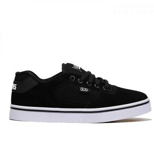 Tênis Hocks Flat Lite - Black/White