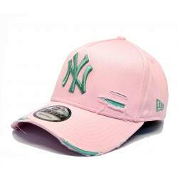 Bone New Era Mlb 9forty A-Frame Destroyed Yankees Rosa