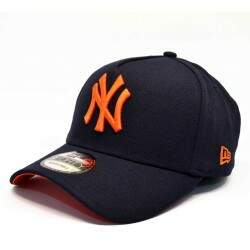 Bone New Era Mlb 9forty A-Frame Yankees Marinho Laranja