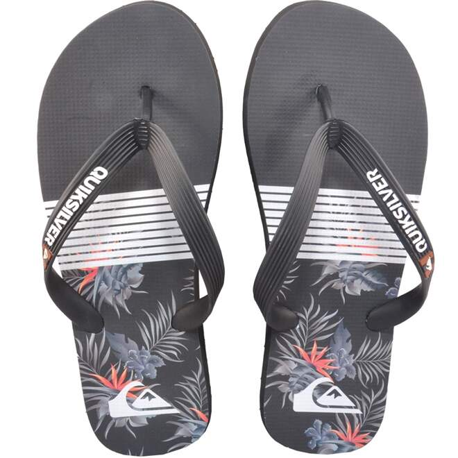 Chinelo Quiksilver Everyday Block Preto
