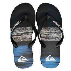Chinelo Quiksilver Numberg - Preto