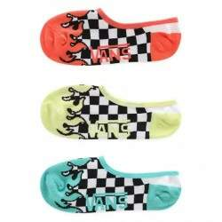 Kit Meia Vans Light Up Canoodle 3 Pares
