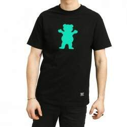 Camiseta Grizzly Og Bear - Preto