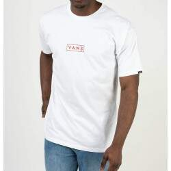 Camiseta Vans Easy Box - Branco