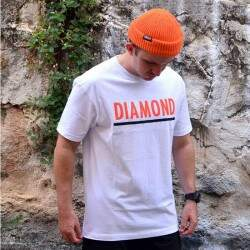 Camiseta Diamond Supply Co Team Tee - Branco
