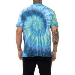 Camiseta DC Downturn Tie Dye - Marinho