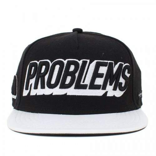 Boné Cayler And Sons Mo Money Black/White - Snapback