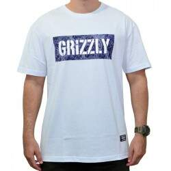 Camiseta Grizzly Paisley Stamped Branco