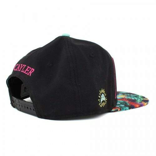 Boné Cayler And Sons - Paris Life - Black/MC- Snapback