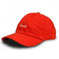 Boné Grizzly Dad Hat Late To The Game Vermelho