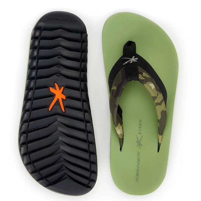 Chinelo Kenner Kivah Cover Army Verde