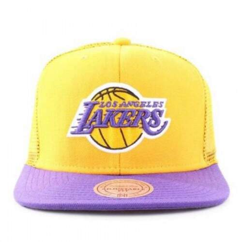 Boné Mitchell and Ness Snapback Los Angeles Lakers - NBA