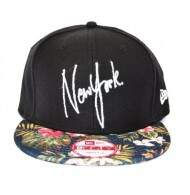 Boné New Era New York Yankees Tropical Script - Snapback