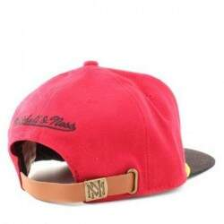 Boné Mitchell and Ness Strapback Miami Heat - NBA