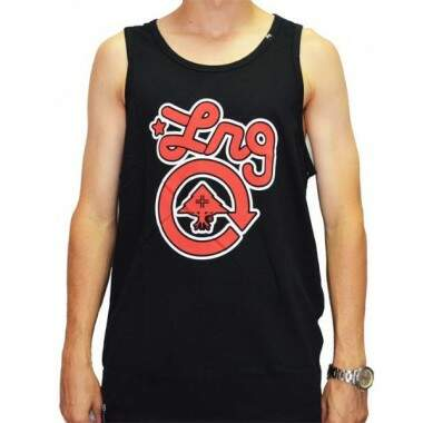 Camiseta Regata LRG Core Collection One Tank Top - preto