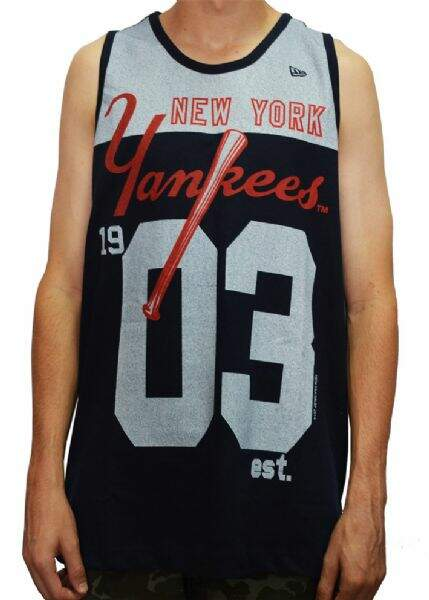 Camiseta Regata - New Era - New York Yankees