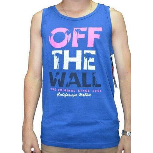 Camiseta Regata Vans - Day Tripping Tee Tank - Royal