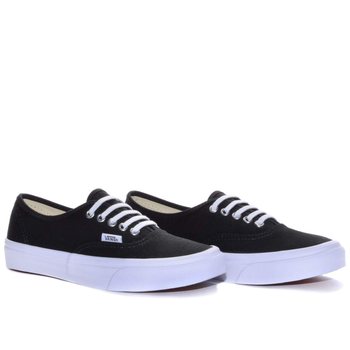 Tênis Vans Authentic Slim - Black/True White
