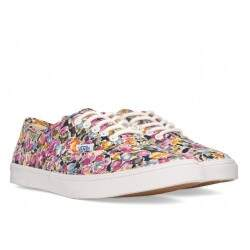 Tênis Vans Authentic Floral - Violet/ True white