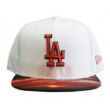 Boné New Era Los Angeles Visor Reel Sunset - Snapback