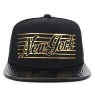 Boné Starter New York - Gold Black - Snapback