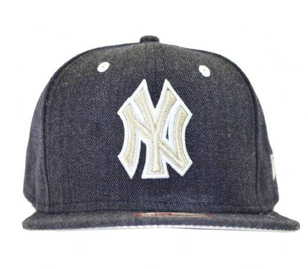 Boné New Era New York Yankees Of Sn Logo Glint Msv Original Fit - Snapback