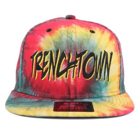 Bone Starter Black Label TrenchTown Tie dye - Snapback