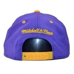 Boné Mitchell  Ness Los Angeles Lakers Doubleup - NBA Snapback