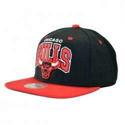 Boné Mitchell  Ness Chicago Bulls Doubleup - NBA Snapback