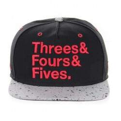 Boné Cayler And Sons - Jays - Black/cement/red - Snapback