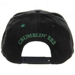 Boné Cayler And Sons - Crumblin - Black/Green - Snapback