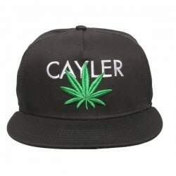 Boné Cayler And Sons - Cayler Cannabis - Black/Green/White - Snapback
