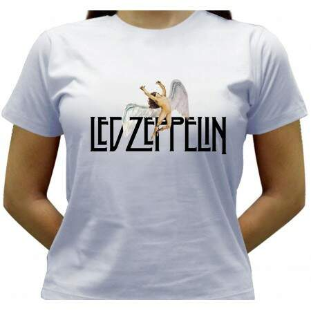 Camiseta Led Zeppelin - Baby-look