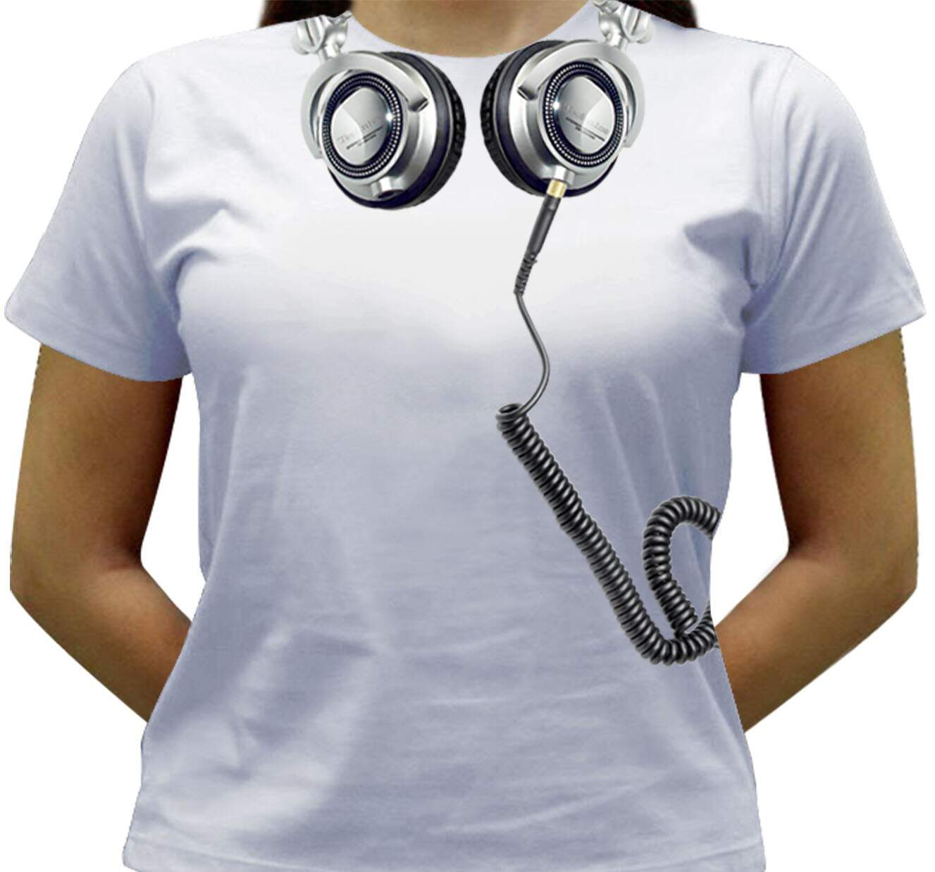 Camiseta DJ - Technics - Baby-look