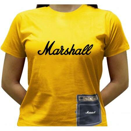 Camiseta Mini-Marshall - Baby-look