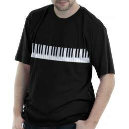 Camiseta Piano barra