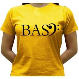 Camiseta Bass - Baby-look