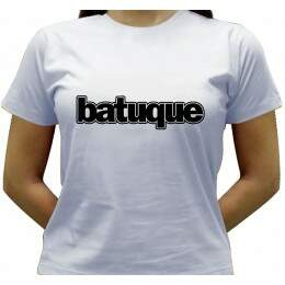 Camiseta Batuque - Baby-look