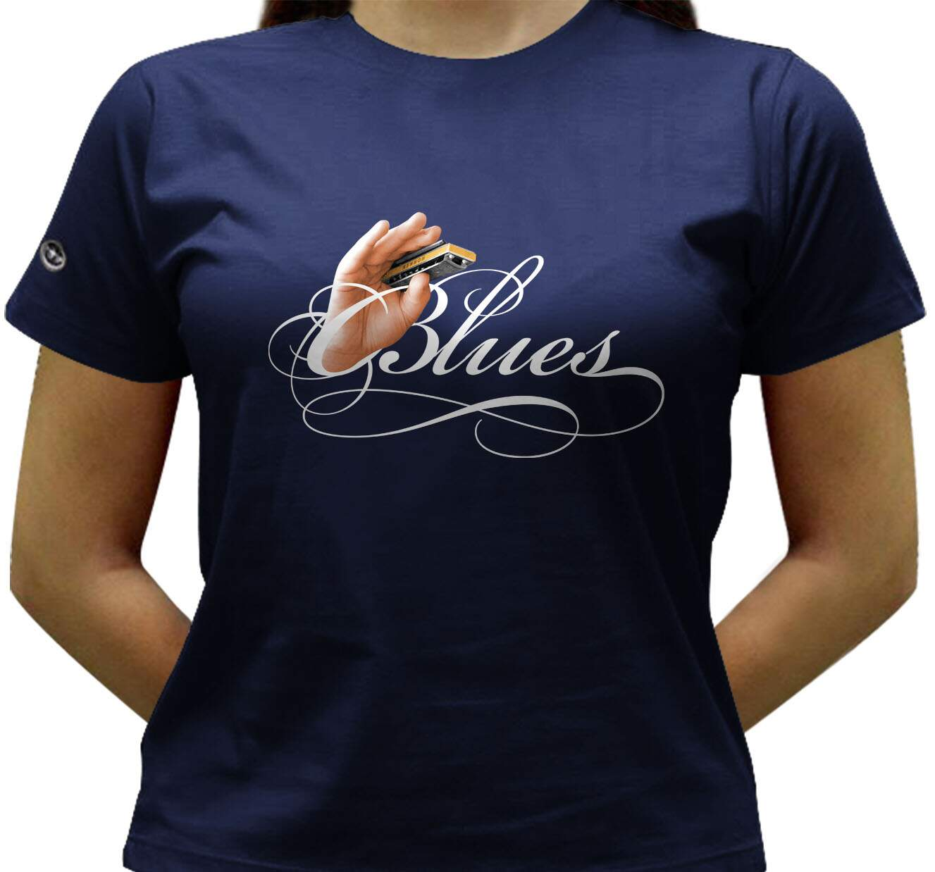 Camiseta Blues - Baby-look