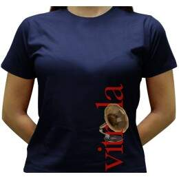 Camiseta Vitrola - Baby-look