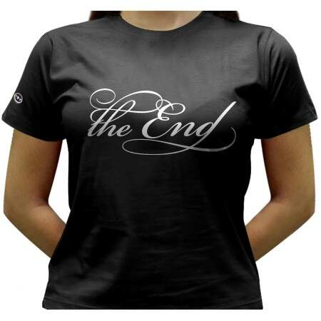 Camiseta The End - Baby-look