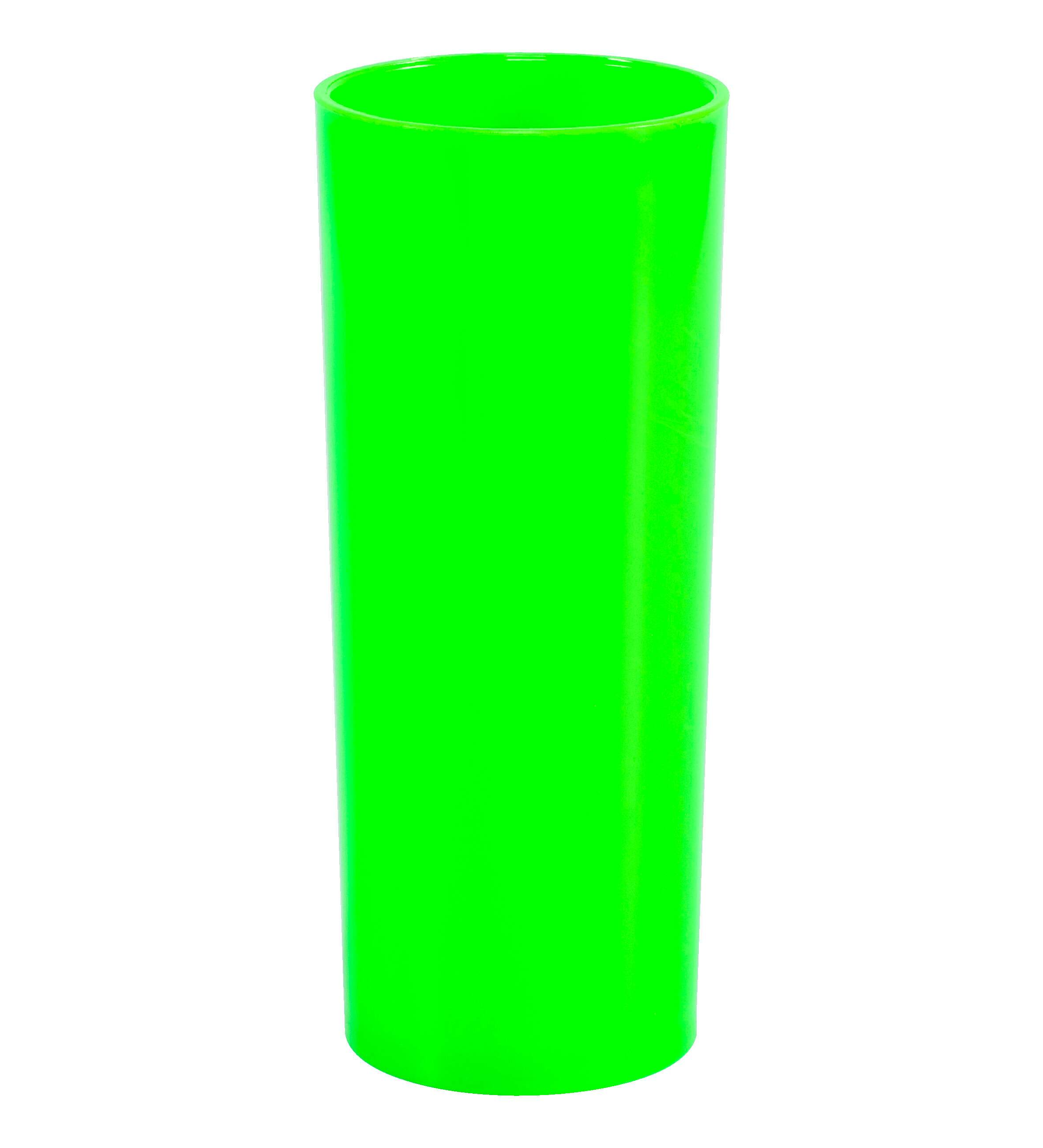 Long Drink Verde Neon Leitoso para Transfer - 350 ml