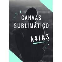 Canvas Sublimático A3