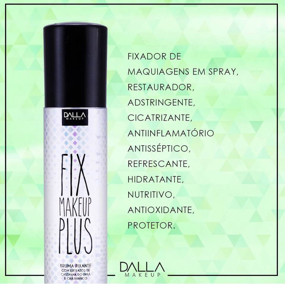 Fixador de Maquiagem Fix Plus - Dalla Makeup