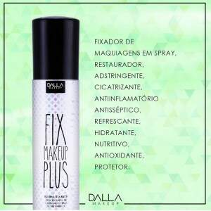Fixador De Maquiagem Fix Plus Dalla Makeup Dalla Makeup
