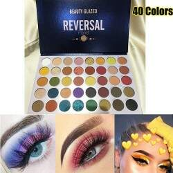 Paleta de Sombras Reversal Planet  Beauty Glazed - 40 Cores