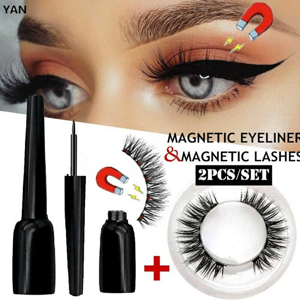 Cílios Magnéticos - Magnetic Eyeliner & Magnetic Lashes