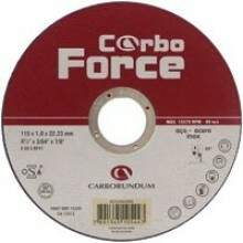 Disco para Inox CarboForce 4.1/2x3/64x7/8