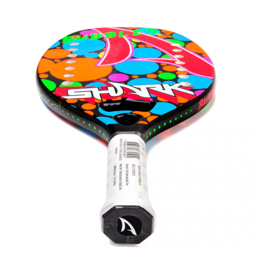 Raquete de Beach Tennis Infantil Shark Bubbles